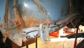 hueco motor reneult 8 para rehacer